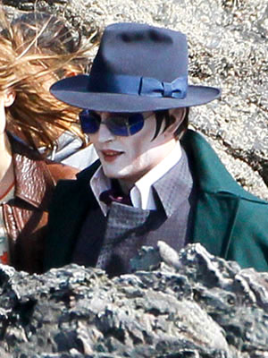 Dark Shadows - First Photos of Johnny Depp