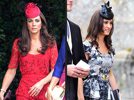 Kate Middleton, Pippa Middleton Turn Heads at Friends' Wedding