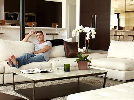 Simon Cowell at Home