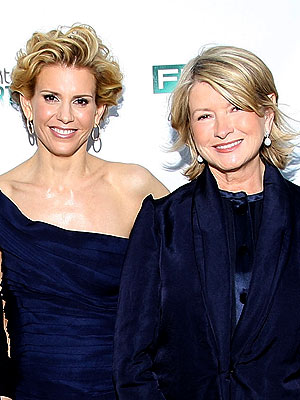 Photo of Martha Stewart & her Daughter  Alexis Stewart