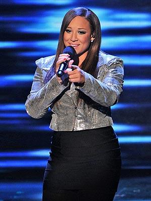 Melanie Amaro Calls Simon Cowell a 'Big Teddy Bear'
