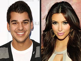 Dancing with the Stars: Kim Kardashian Supports Rob Kardashian