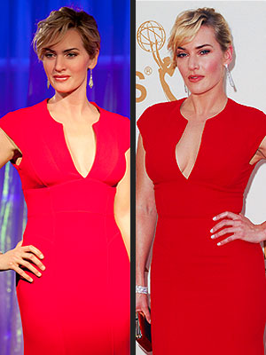 Kate Winslet Wax Figure Unveiled