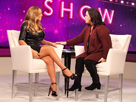 Mariah Carey Tells Rosie O'Donnell: I Lost 70 Lbs. After Twins