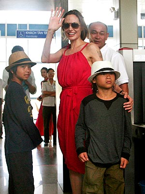 Angelina Jolie and Brad Pitt's Family Trip to Vietnam: Pictures