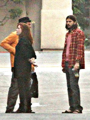Demi Moore Files for Divorce, Ashton Kutcher Goes to Work