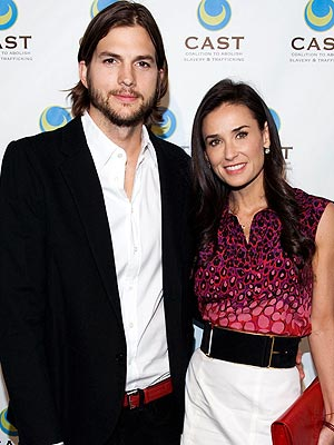 Ashton Kutcher Files for Divorce from Demi Moore; Is Dating Mila Kunis
