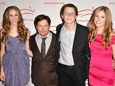 Michael J. Fox, Tracy Pollan & Their Children