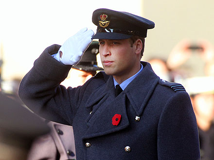 Prince William Honors Britain's Fallen Soldiers