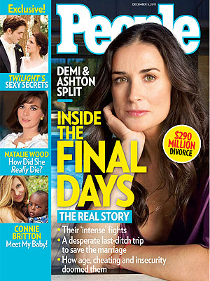 Demi Moore and Ashton Kutcher Split: PEOPLE Cover Story