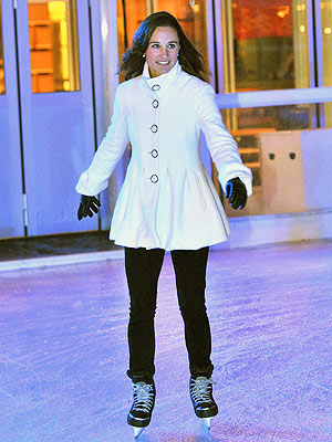 Pippa Middleton Photos: The Royal Bridesmaid Goes Ice-Skating