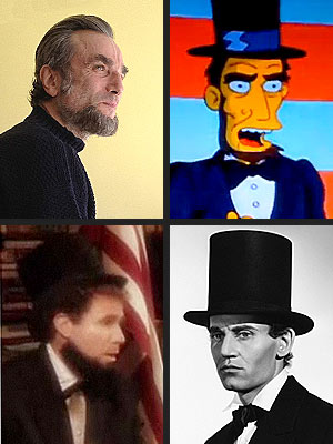 Daniel Day Lewis as Abe Lincoln