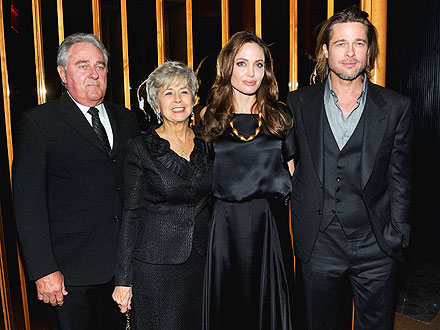 Angelina Jolie, Brad Pitt&#39;s Parents Debut In the Land of Blood and Honey