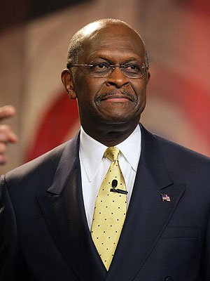 Herman Cain Suspends His Race for the White House