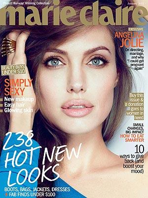 Angelina Jolie Talks Children, Family & Brad Pitt