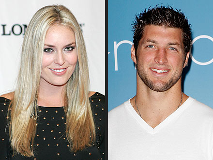 Tim Tebow, Lindsey Vonn Not Dating