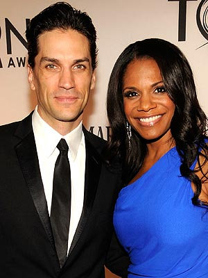 Audra McDonald and husband