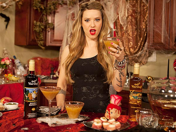Trick-or-Treat (in One Shot!) with This Candy-Inspired Drink from Nadia G.