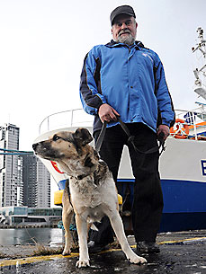 The Water Bowl: Baltic the Dog Enjoying Life at Sea! Plus, Mark Zuckerberg Is on the Hunt for Dogs