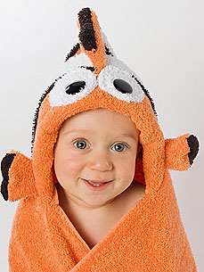Etsy Fave! Sweet Hooded Towels Your Babies Will Love