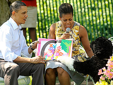 Bo Goes to the White House Easter Egg Roll!