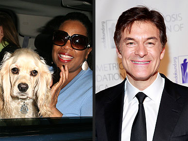 Oprah and Dr. Oz Give Their Pets the Best in Health Care