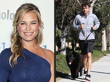 Rebecca Romijn: My Husband Is Just Like the Dog