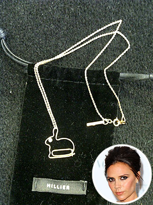Look for Less: Victoria Beckham's Bunny Pendant