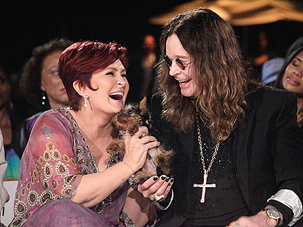 Ozzy Osbourne, Sharon Osbourne Name Their Puppy Charlie