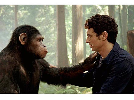 James Franco, Rise of the Planet of the Apes, Chimpanzee