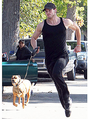 Kellan Lutz Workout Secret, His Dogs
