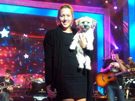 Colbie Caillat, New Dog on America's Dog Talent