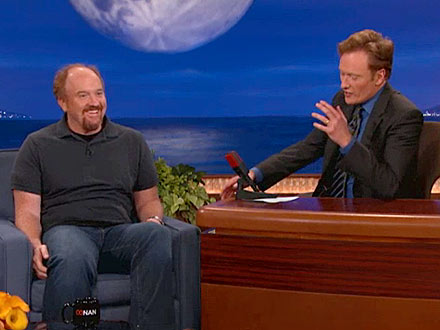 Louis C.K. on Conan: How He Saved His Dog's Life