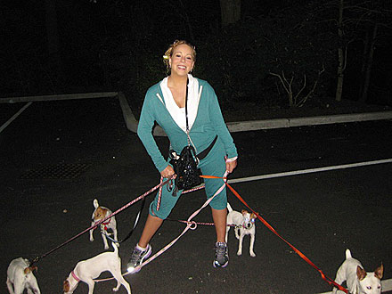 Mariah Carey Goes Jogging &#8211; with Five Puppies!