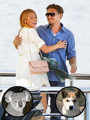 Blake Lively, Leonardo DiCaprio Reunite in Australia