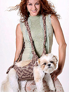 Would You Carry Your Dog in a Crocheted Sling?