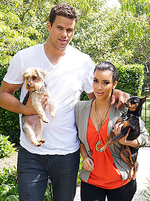 Kim Kardashian, Kris Humphries Argue Over Dogs