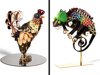 Louis Vuitton Creates Special Collection of Animal-Inspired Purse Art