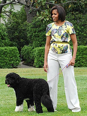 Michelle Obama Shops Petco, Starbucks and Chipotle