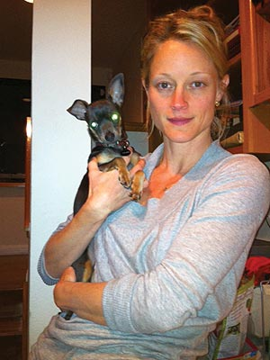 Teri Polo Rescues a Dog and Three Kittens