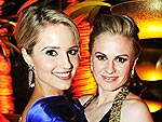 Behind the Velvet Rope at the Emmys' Poshest Parties! | Anna Paquin, Dianna Agron