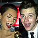 Say Cheese! Stars Share Their 2011 Golden Globes Shots | Chris Colfer, Kim Kardashian