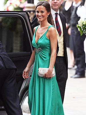 Royal Wedding Coverage: Pippa Middleton's Party Gown