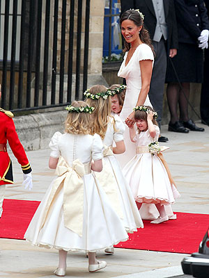 Royal Wedding Coverage: Pippa Middleton and Other Bridal Party Dresses