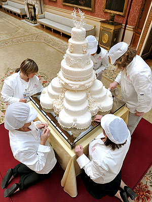 Prince William and Catherine Middleton's Wedding Cake