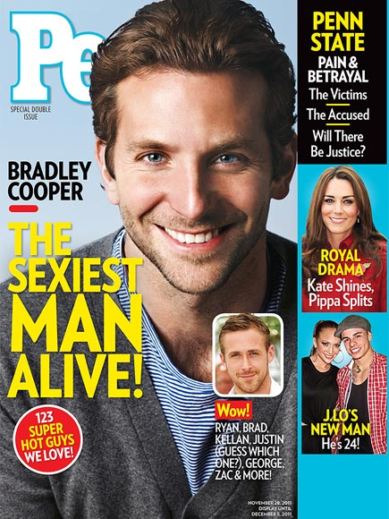 All the Sexiest Man Alive Covers
