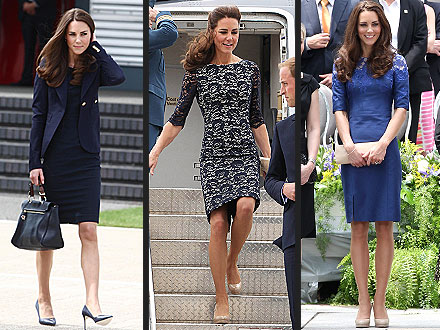 Kate Middleton Style for Canada Tour