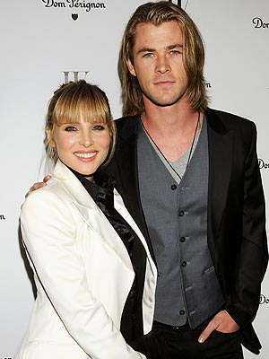 Chris Hemsworth a Dad -- Daughter India with Elsa Pataky