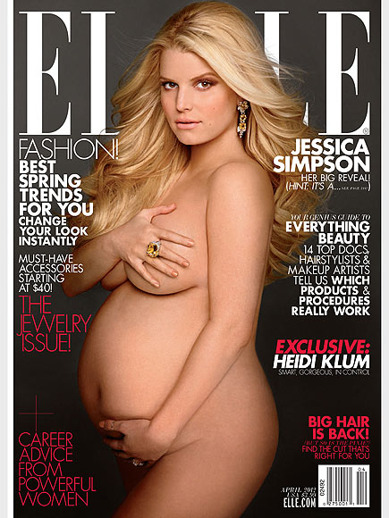 Moms-to-Be Who've Dared to Bare!