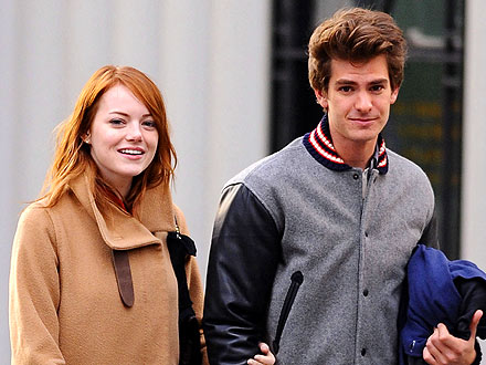 Emma Stone & Andrew Garfield's Sweet (Literally!) Shopping Trip
